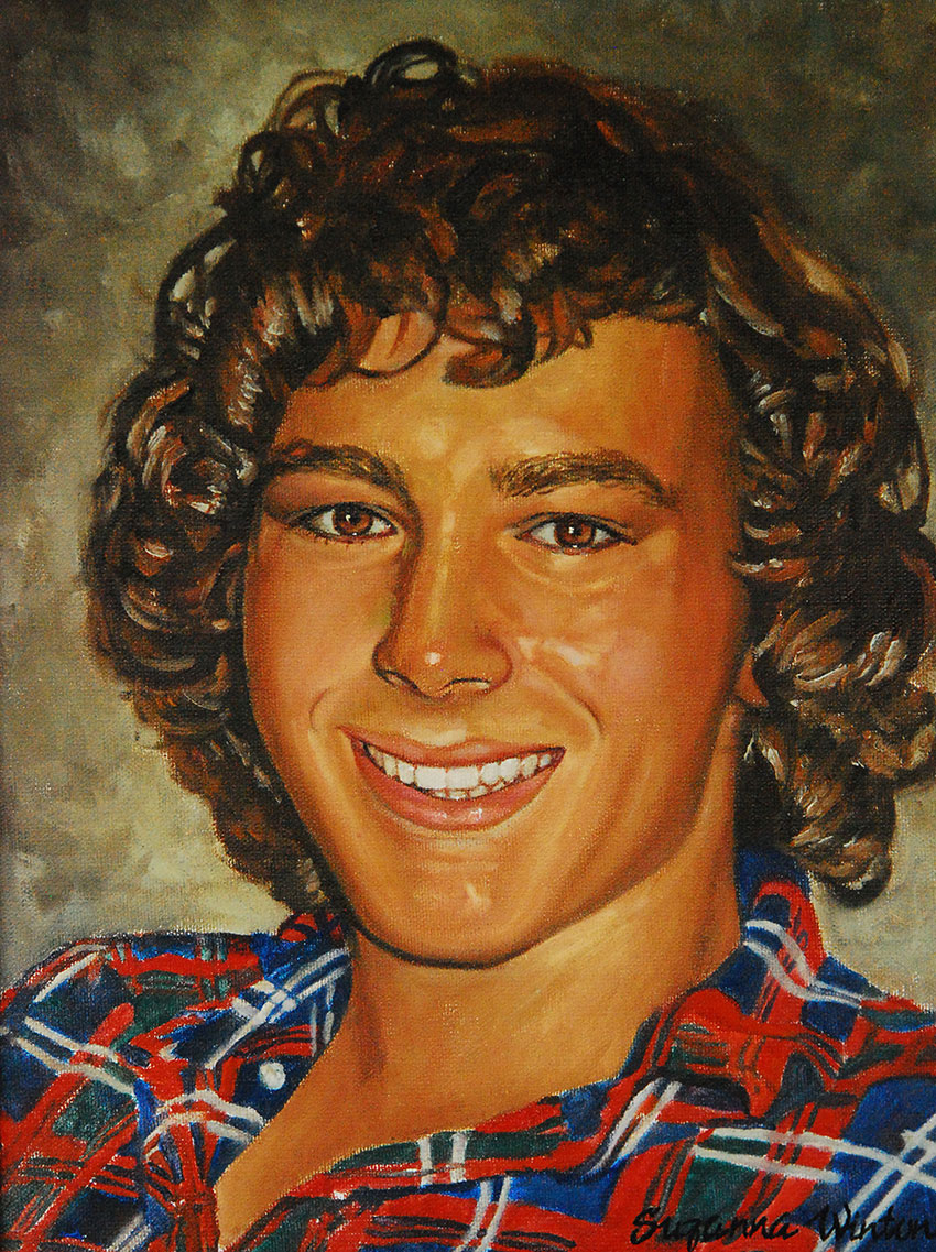 Reese Oil Portrait
